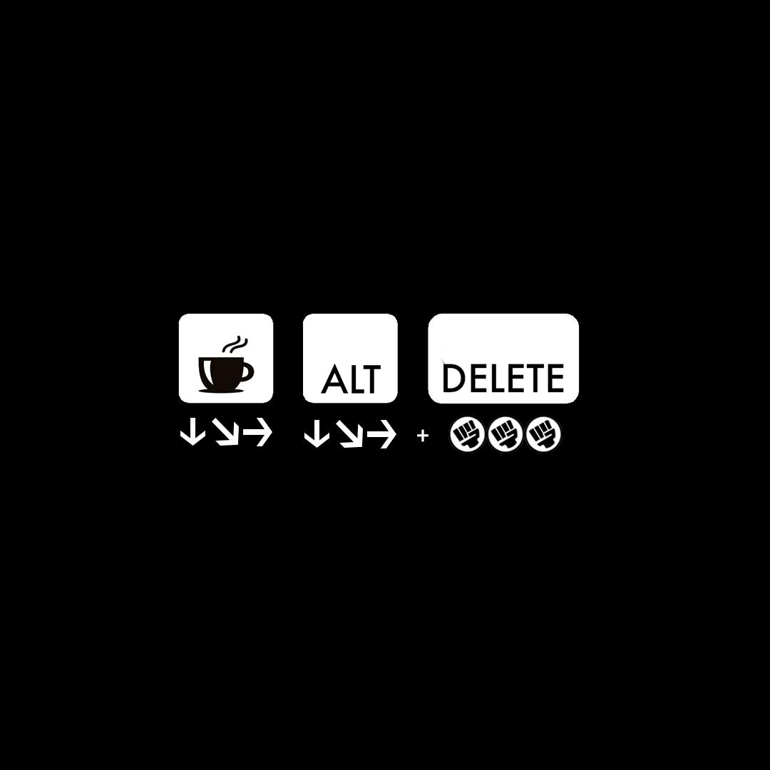 Coffee Alt Delete